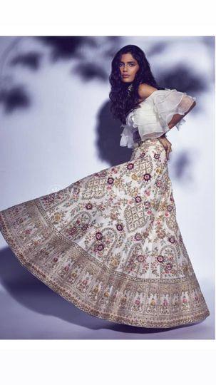 Bridal Lehenga-Tulsi studio-Partywear Lehenga168