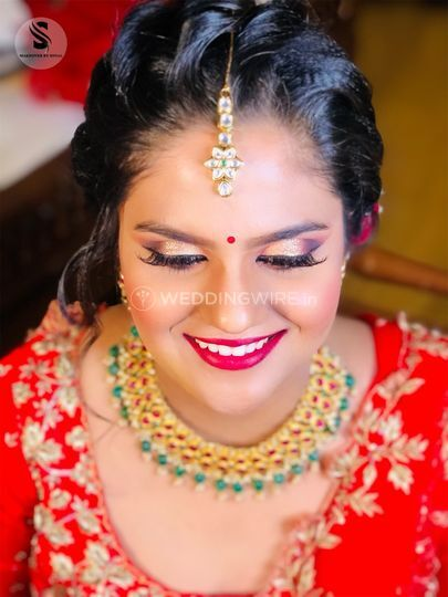 Priya on her Wedding
