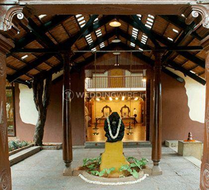 The entrance to ganjam mantapa