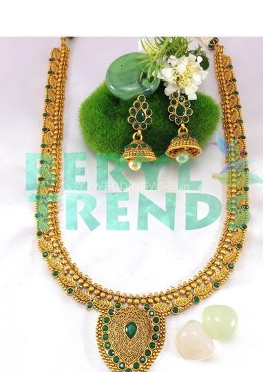 Emerald Necklace Long