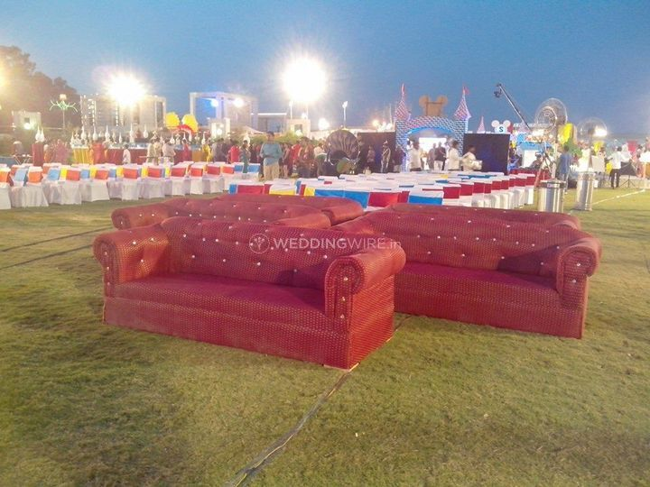 Seating setup