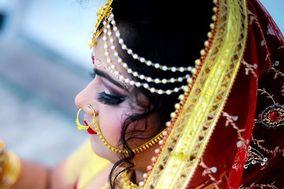 Krishna boudi's Makeover & Bridal Makeup