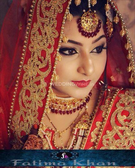 Beautiful traditional bride