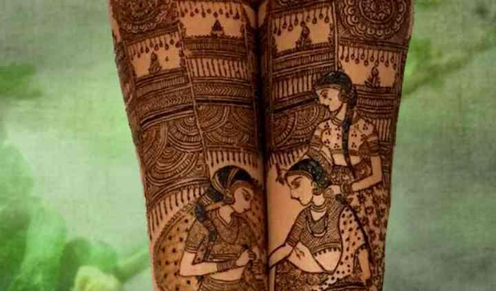Ram Bridal Mehendi