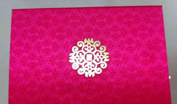 Decorated cards
