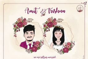 Isha Quirky Wedding E-Invite