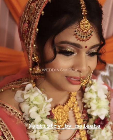 Northie Bridal makeup