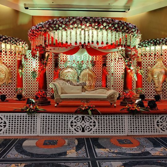 Traditional Mandap Decor