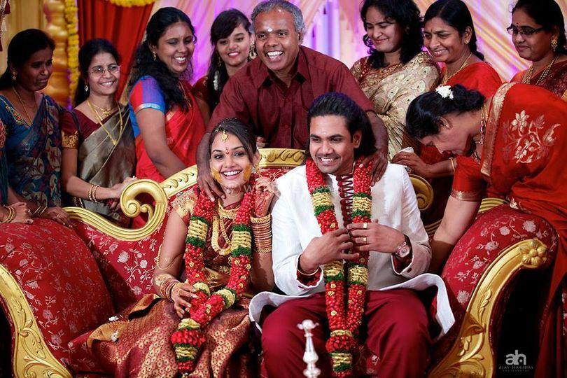 Happy wedding of Ajay Haridas Photography
