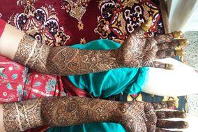 Alifiya Bharmal Mehandi Designs