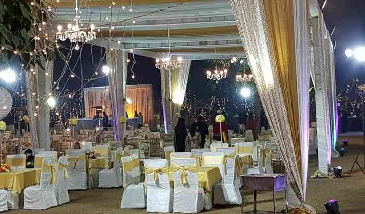 Wedding decor and tenting
