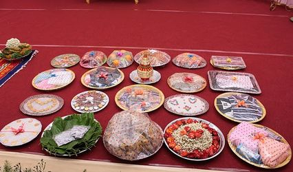 Wedding Plate Packing and Aarathi Plates by Sahana