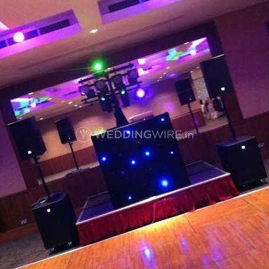 Dance floor setup