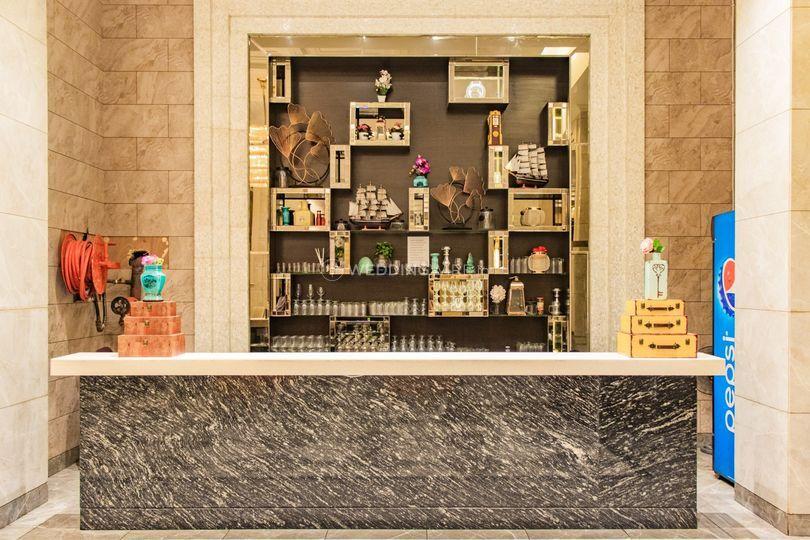 Wedding venue-Bar counter
