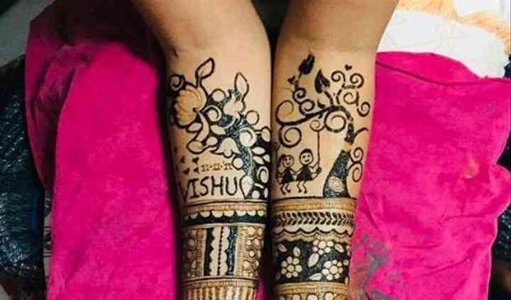 Janvi S Mehendi Suratgarh Mehndi Suratgarh Weddingwire In