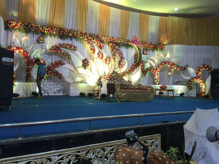 Reception stage