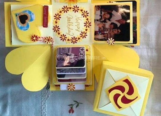 Glittery Wrap By Manpreet & Jyoti