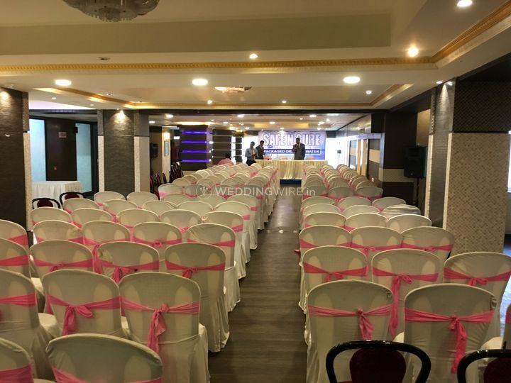 Corporate Seating 280 Pax
