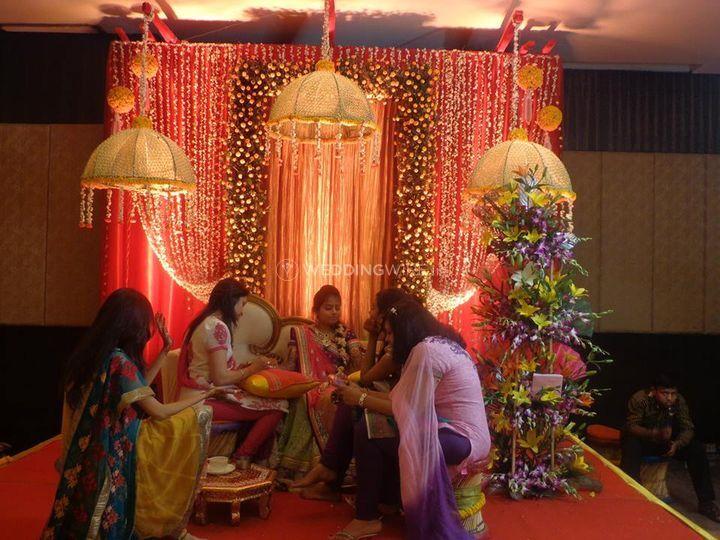 Event space decor
