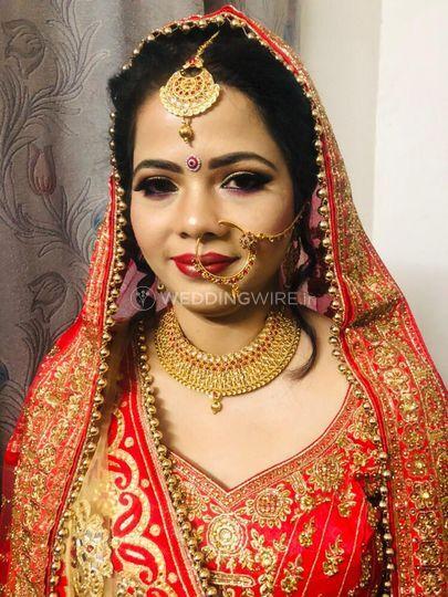 Bridal HD make up