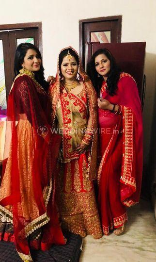 Punjabi Bride,Night Make up