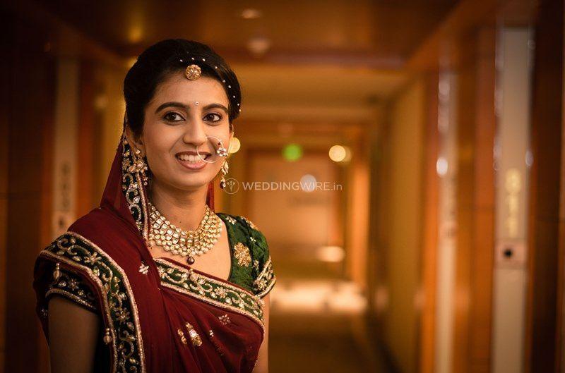 A beautiful bridal portrait