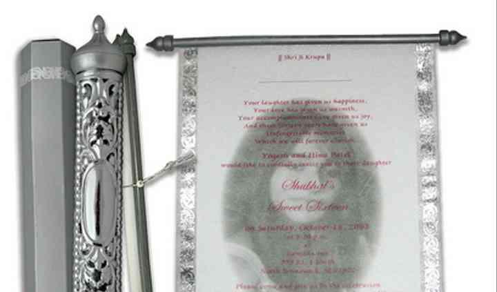 Scroll Invitations