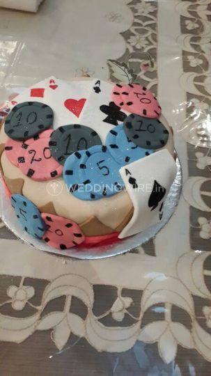 A cake for a gambler