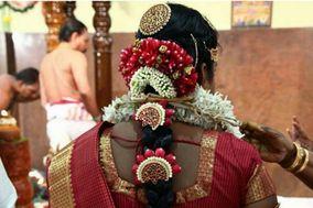 Wedding flower Jadai  By Arthi