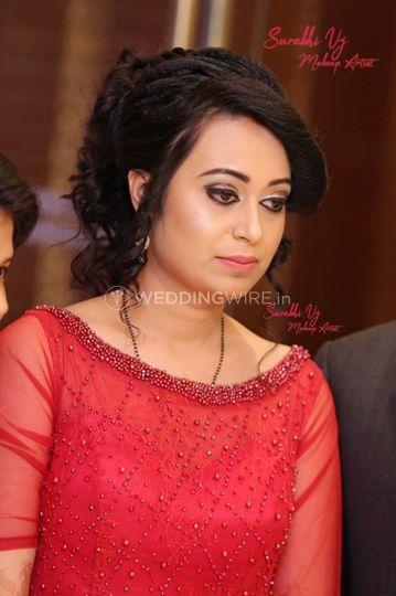 Surabhi Vj Makeup Artist