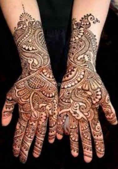 Mehandhi For Brides