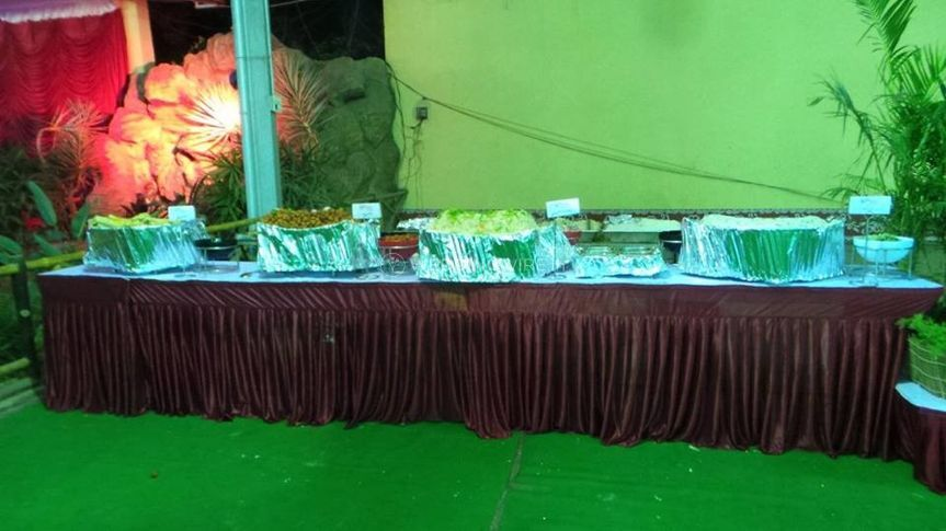 Food presentation and set up