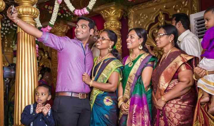 Candid Wedding Photography by Dhaya