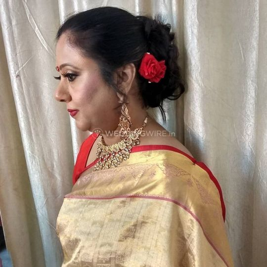 Party Makeup And Hairstyle From Reet Makeup Villa Photo 24