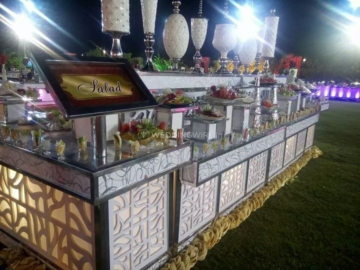 Counter decoration for your big day