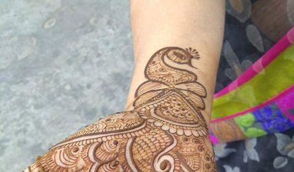 Ganga Mehandi Designer