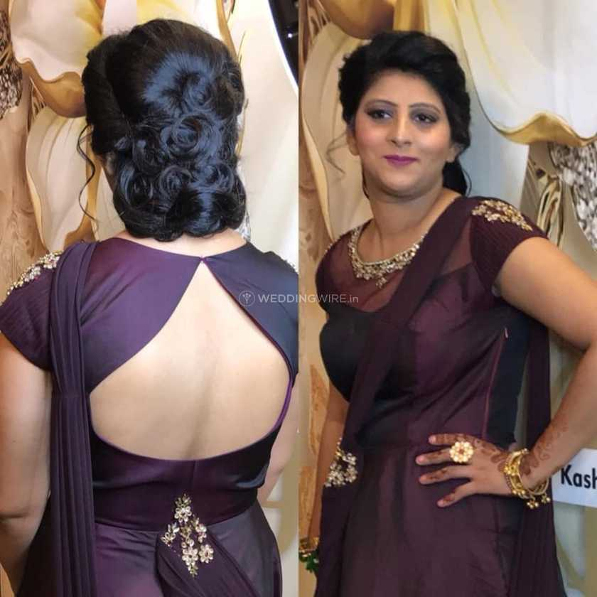 Party Makeup And Hairstyle From Kashish Jain Makeovers Photo 9
