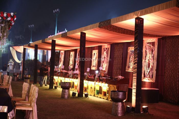 Outdoor Catering Counters
