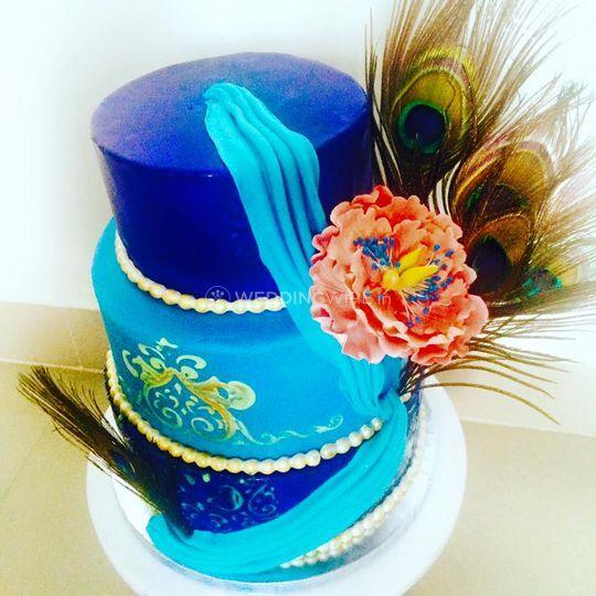 Themed Wedding Cake From Toothfairy Bangalore Photos