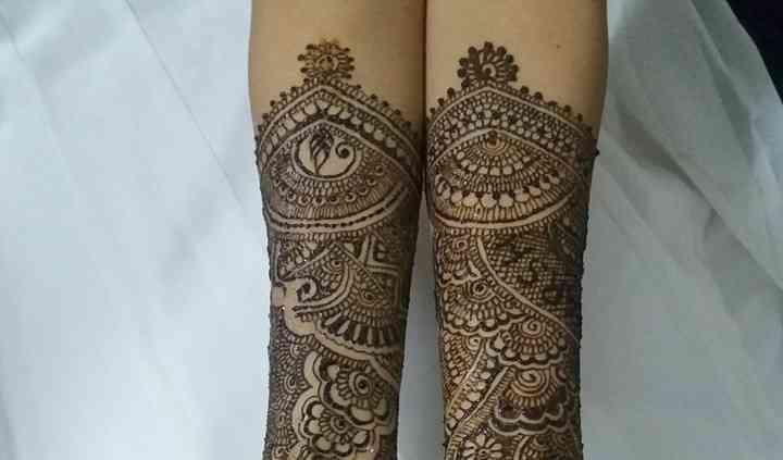 Aekta Shah Mehndi Designer