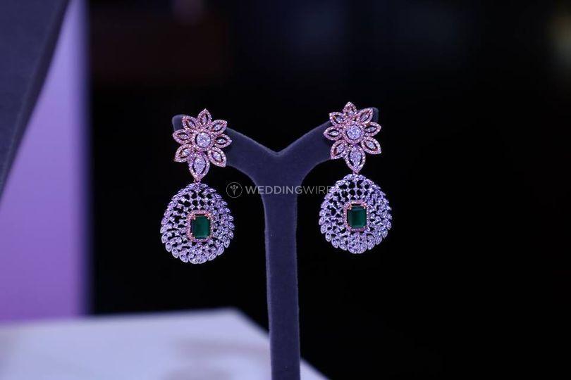 Diamond EarringsDiamond Necklace