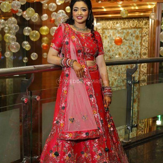 Bridal fashion wear