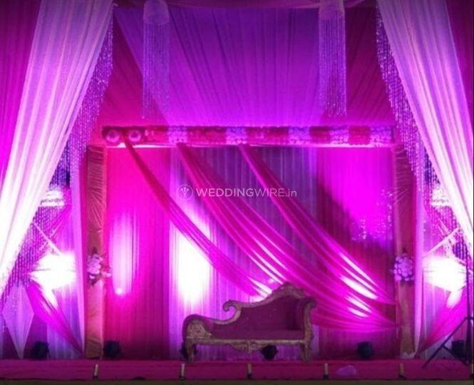 Stage decor and lighting