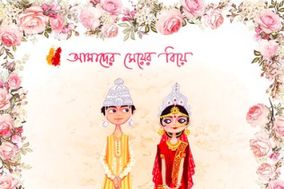 Bengali Wedding Card