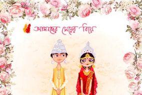 Bengali Wedding Card