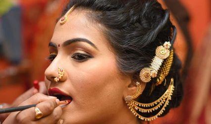 Bride's Look by Priya