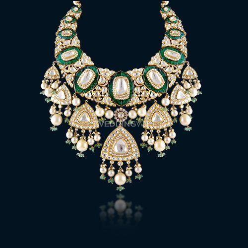 Polki Diamond cut Necklace