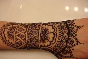 Modern Mehndi Art