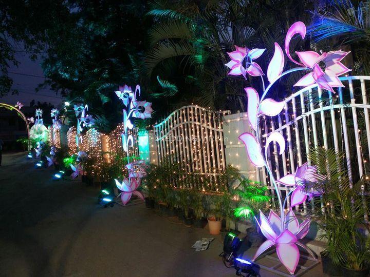 Sri dhanalakshmi tent house & flower decorators
