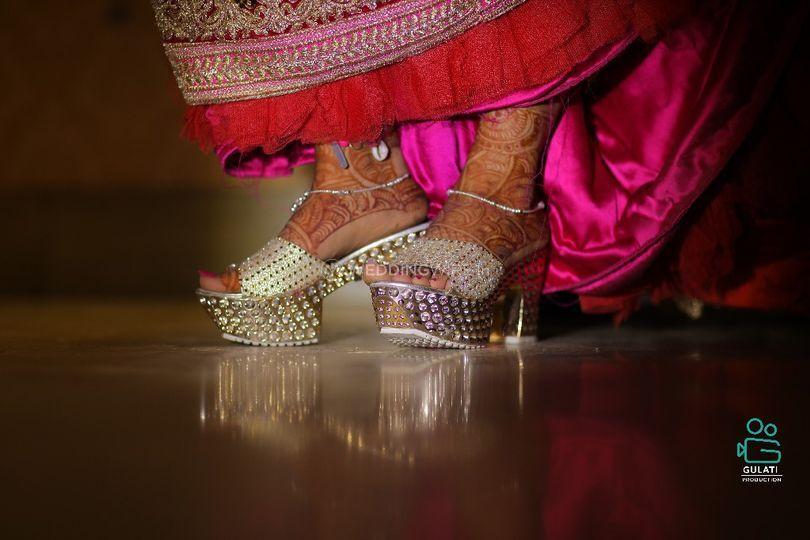 Bride shoot